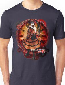 Tokisaki Kurumi Black Date-a-Live Anime T-shirt Unisex T-Shirt