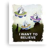 I Believe - Sup Canvas Print