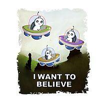 I Believe - Sup Photographic Print