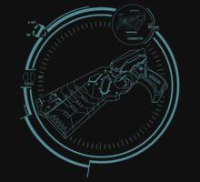 Psycho Pass Dominator Anime T-shirt by ShoukoChan