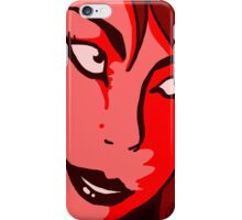 Red Girl iPhone Case/Skin