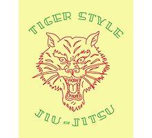 Tiger Style Jiujitsu Photographic Print