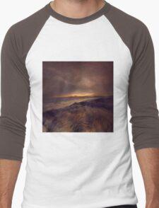 ROSSBEIGH Men's Baseball ¾ T-Shirt