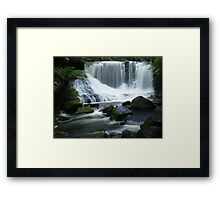 Horseshoe Falls, Tasmania Framed Print