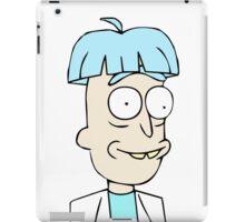 Doofus Rick iPad Case/Skin