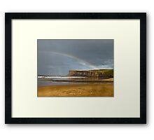 I can see a rainbow Framed Print
