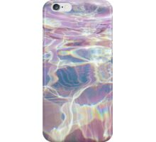 pastel aesthetic water waves iPhone Case/Skin