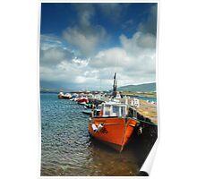 Valentia Boats Poster