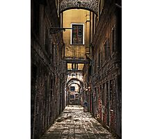 Venice - passage Photographic Print