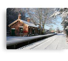 Holt Station, Norfolk Metal Print