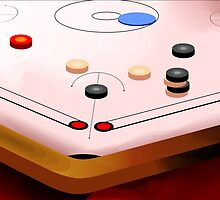 Amusing carom game	 by tillydesign