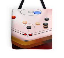 Amusing carom game Tote Bag