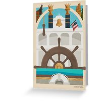 Queen of the Riverboats Greeting Card