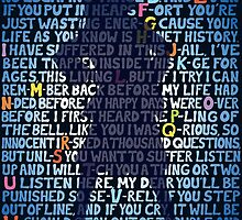 "Matilda ""School Song"" lyrics, stance silhouette   by alexbeppo"