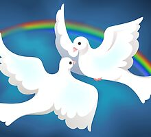 Symbol of love and peace	 by tillydesign