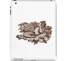 Paleo Diet Etching iPad Case/Skin