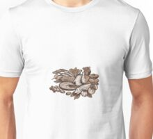 Paleo Diet Etching Unisex T-Shirt