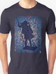 "Matilda ""School Song"" lyrics, swing silhouette  T-Shirt"