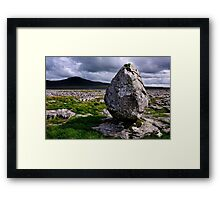 Ingleborough from Twisleton Scar - The Yorkshire Dales Framed Print
