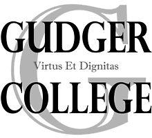 Gudger College (Black & Dark Grey text) by SheepOverflow