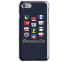 Remota - Legends of Motorsport guessing game t-shirt iPhone Case/Skin