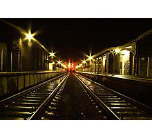 Little River Railway Station - Geelong (Australia)  Photographic Print