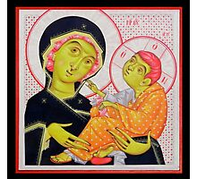 Virgin Mary and the Child Jesus Photographic Print