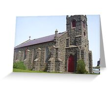 St Mary's Anglican church, Woodend Greeting Card