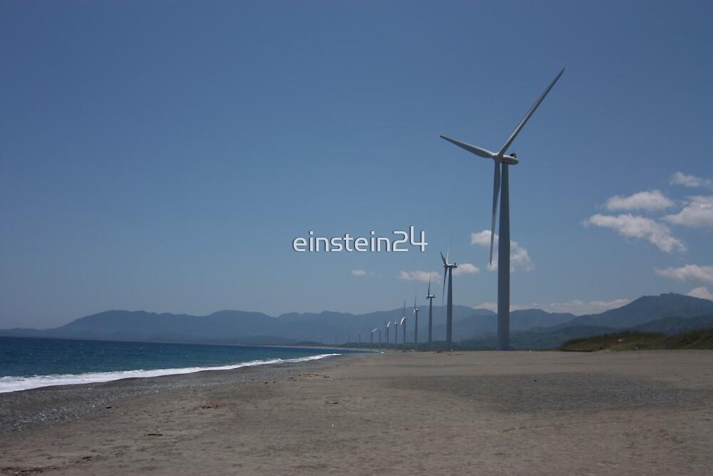 Philippine Windmill  - Landscape of Energy by einstein24