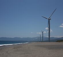 Philippine Windmill  - Landscape of Energy by einstein24
