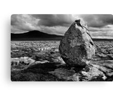 Ingleborough from Twisleton Scar, Yorkshire Dales Canvas Print