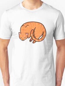 Sleeping Cat - Ginger T-Shirt