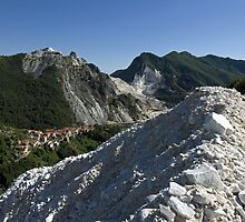 Italie - Toscane - Carrara by Thierry Beauvir