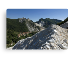Italie - Toscane - Carrara Canvas Print