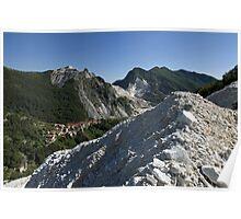 Italie - Toscane - Carrara Poster