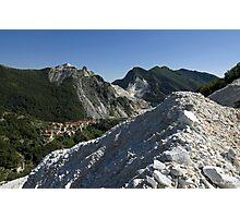 Italie - Toscane - Carrara Photographic Print