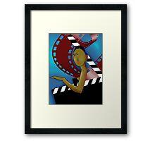 Film artist  Framed Print