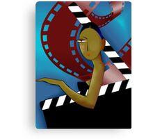 Film artist  Canvas Print