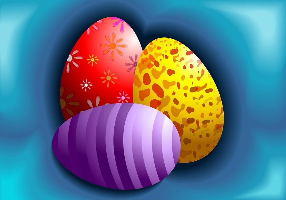 Hunt for Easter eggs by tillydesign