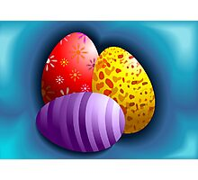 Hunt for Easter eggs	 Photographic Print