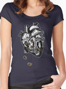 The Heart Is Bulletproof Women's Fitted Scoop T-Shirt