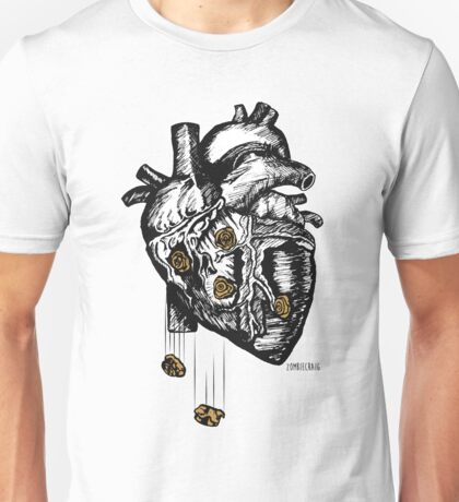 The Heart Is Bulletproof Unisex T-Shirt