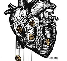 The Heart Is Bulletproof by zombieCraig