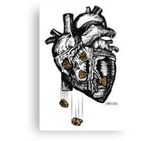 The Heart Is Bulletproof Canvas Print