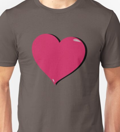 Love Heart Unisex T-Shirt