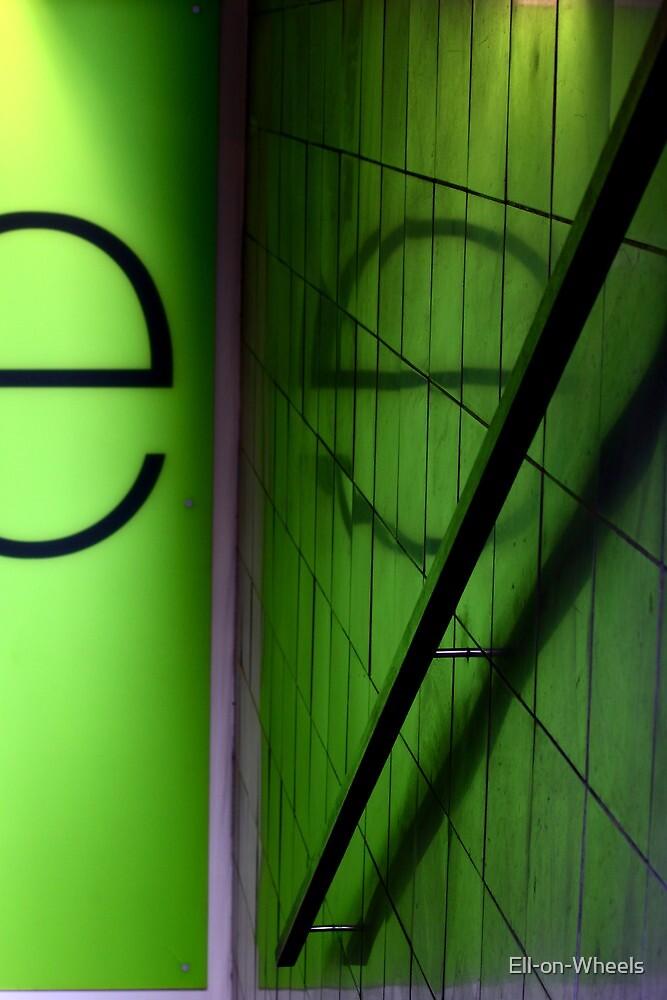 'e' by Ell-on-Wheels
