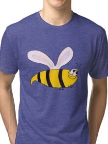 Buzzy the bee Tri-blend T-Shirt
