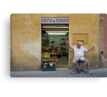 Italie - Toscane - Sienne (Sienna) Canvas Print