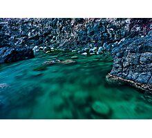 Racing Rock Pool Photographic Print