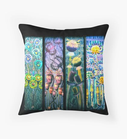Nature and Life Throw Pillow